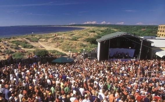 Summer and live music, Solgården, Tylösand, Halmstad