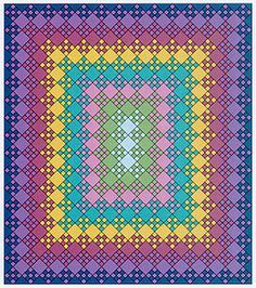 12 Best Images About Quilts Blooming Nine Patch On