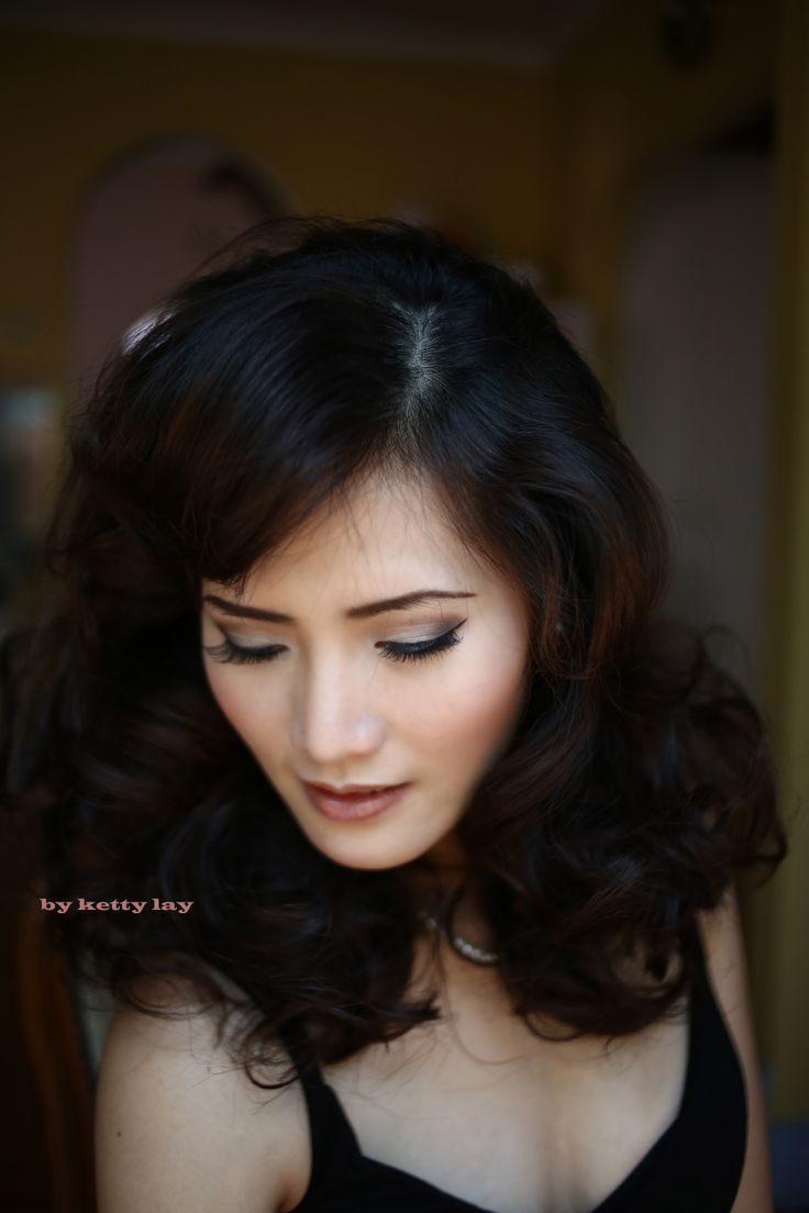 Asian makeup and hair by Ketty Lay http://kettylay.wordpress.com http://www.facebook.com/kettylay