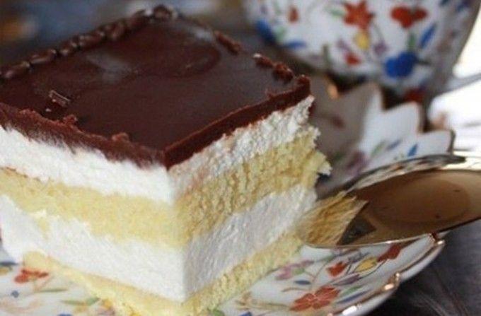 Fantastický koláček našeho dětství - Ptačí mléko | NejRecept.cz