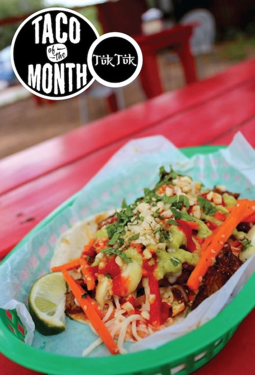 ... Taco of the Month on Pinterest | Pickled onions, Cole slaw and Tacos