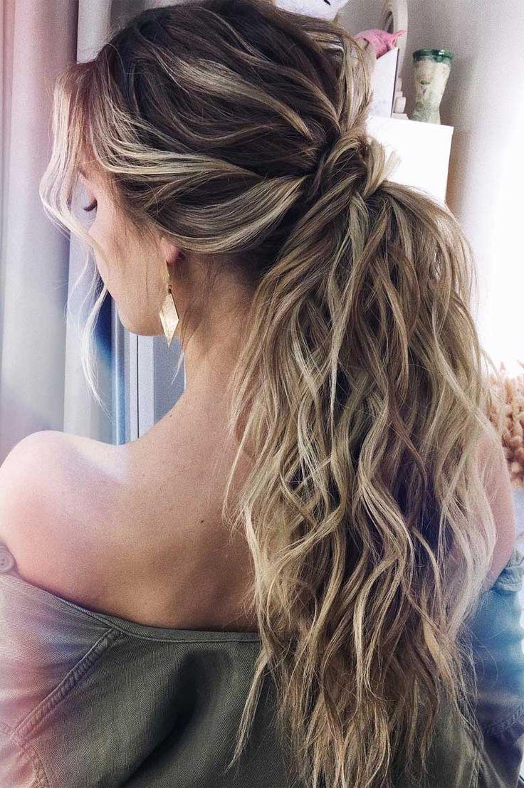 53 Beste Pferdeschwanz-Frisuren (niedrige und hohe Pferdeschwänze), die inspirieren – wedding hair
