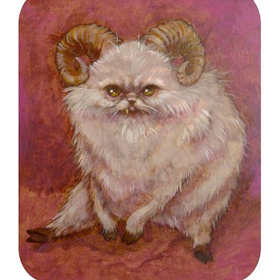 The Beastie  #goth #cute #lowbrow #pop surrealism #art #morbid #creature
