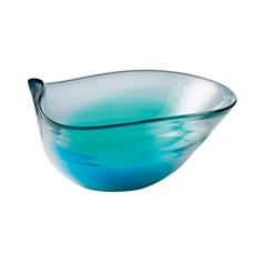 Royal Doulton 1815 Colored Glass Shallow Bowl