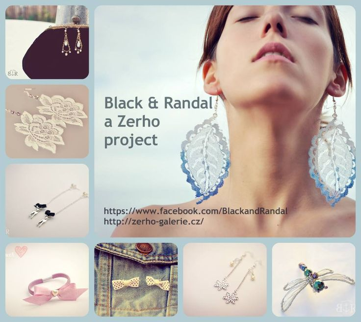 Staň se tváří šperků Black and Randal.