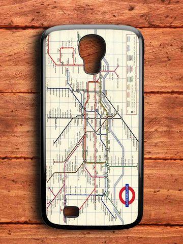 London Subway Samsung Galaxy S4 Case