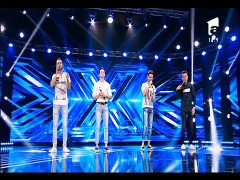 """Medley anii '20. Vezi aici cum cântă trupa """"3 o'clock"""", la X Factor! - YouTube"""