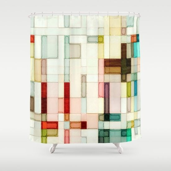 abstract, geometric, rectangles, squares, stained glass, pastel
