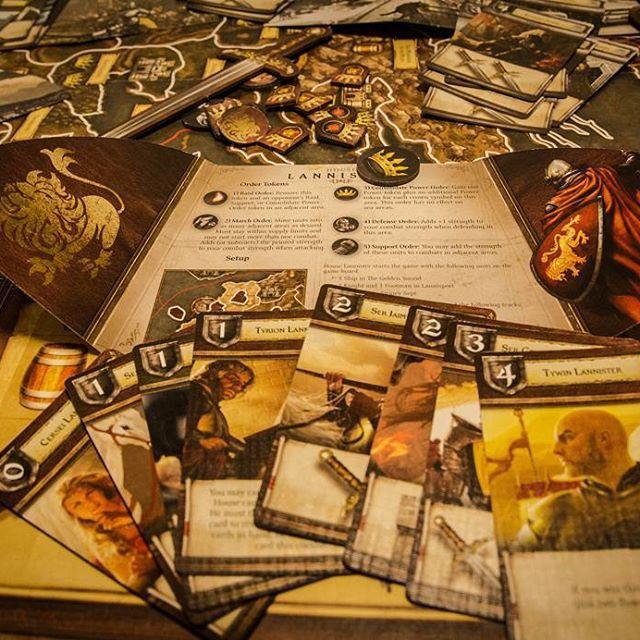 """A Lannister Always Pays His Debts"" #gameofthrones #lannister #tyrionlannister #boardgames #brætspil #brädspel #brettspill #lautapelit #houselannister #art"