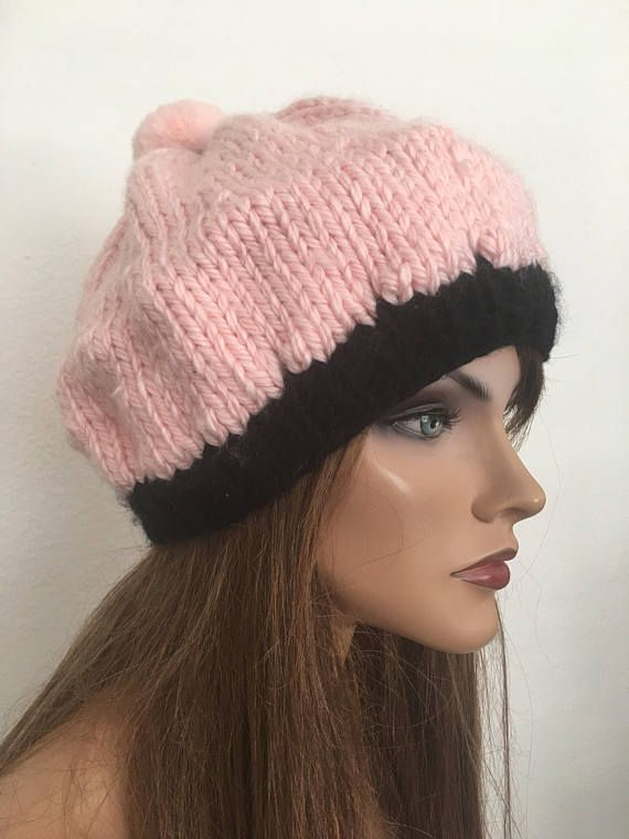 ALL Hats Storewide Hand Knits 2 Love Beanie Hat Slouch Cap Chemo Female  Designer Fashion Pink Black Pom Pom Winter Ski Snowboard Christmas Black  Friday 353896b426d
