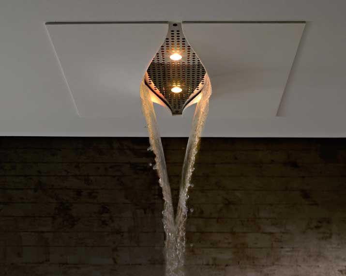 La colección VIRGIN de #zazzeri diseñada por Daniele Bedini un innovador sistema de ducha que se incorpora a la arquitectura del baño. Más info en