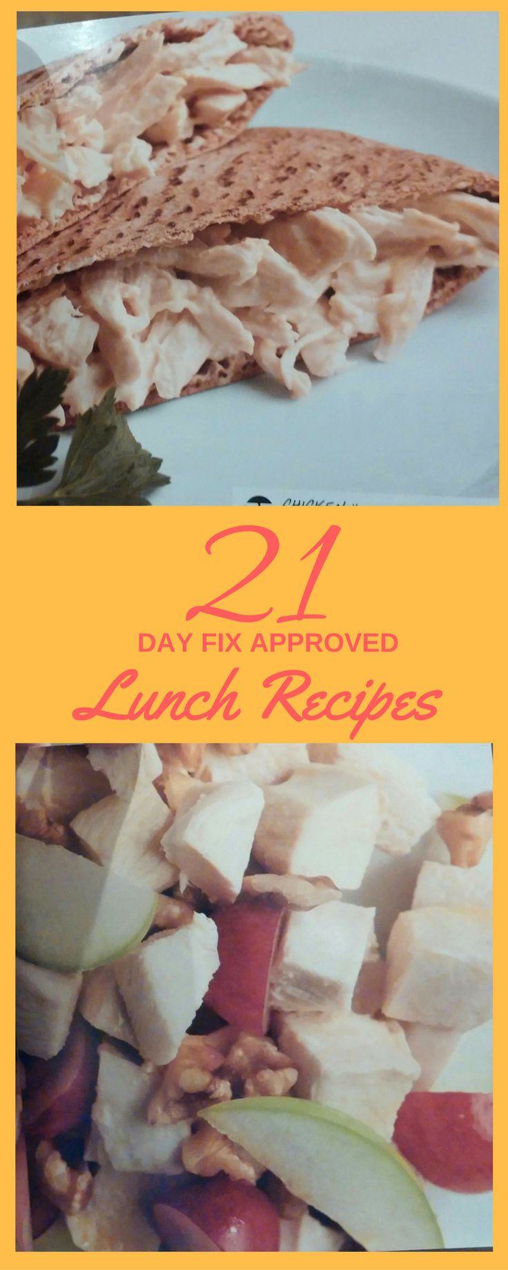 Get FIVE healthy lunch recipes - All 21 Day Fix Approved!  Need help with your meal planning?  This is a good place to start!  Get your 5 day lunch meal plan here! #21dayfix #recipe #healthyrecipe #mealplan #oatmeal #egg #breakfast #healthylifestyle #lunch