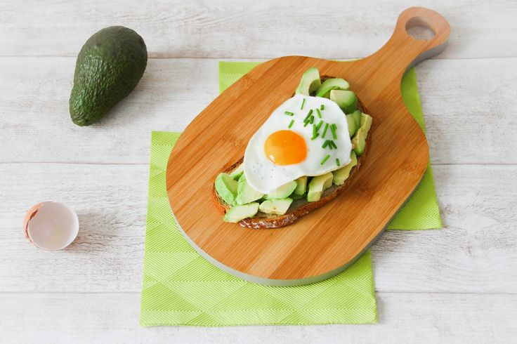 Avocado Lime Toast topped with fried Egg