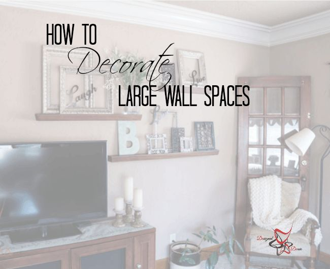 large wall decorate large walls how to decorate wall spaces wall ideas