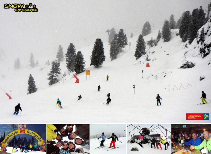 Van Kaltenbach naar Hochfügen! Het skigebied Hochzillertal, tijdens de Zillertal Super ski Safari in 2014.