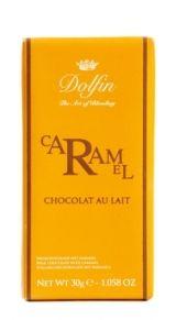 Dolfin 30g. Ciocolata cu lapte, caramel si unt sarat