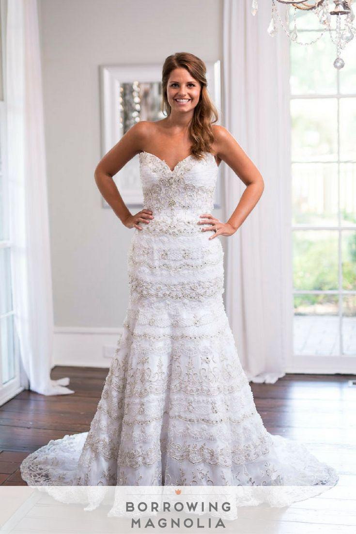 35 best Trumpet Silhouette Wedding Dresses images on Pinterest ...