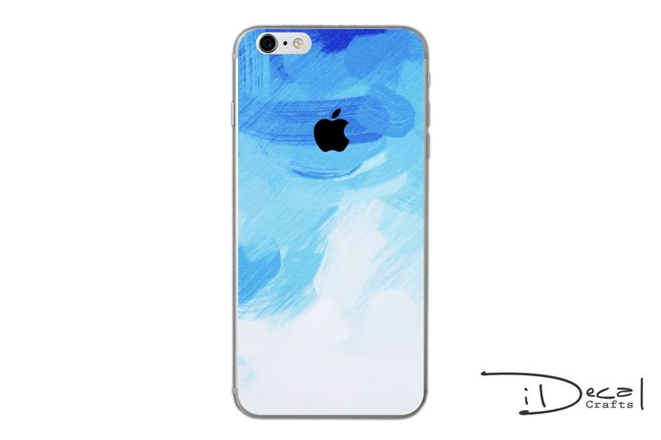 iPhone decal iPhone skin iPhone sticker iPhone 7 decal iPhone 7 plus decal iPhone 6/6s plus decal iPhone 6/6s skin iPhone SE sticker blue by idecalCrafts on Etsy