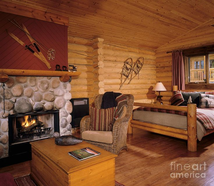 Cathedral Mountain Lodge   Rustic Log Bedrooms Ski And Snow Shoes Part 95