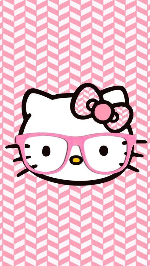 wallpaper iphone 5 pink kitty - photo #42