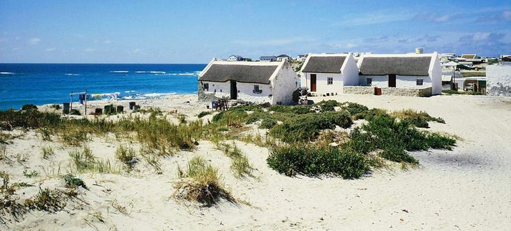 Some fishermans cottages along the west coast just outside CapeTown