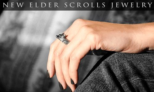 New Skyrim Jewelry http://skyrimfansite.com/new-skyrim-jewelry-features-hircines-ring/