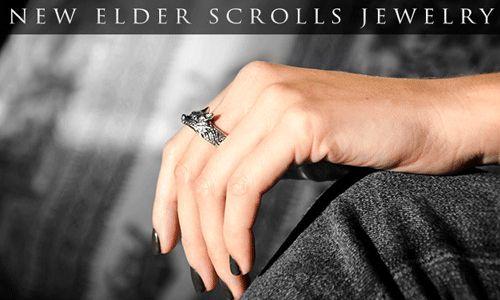 New Skyrim Jewelry http://skyrimfansite.com/new-skyrim-jewelry-features-hircines-ring/