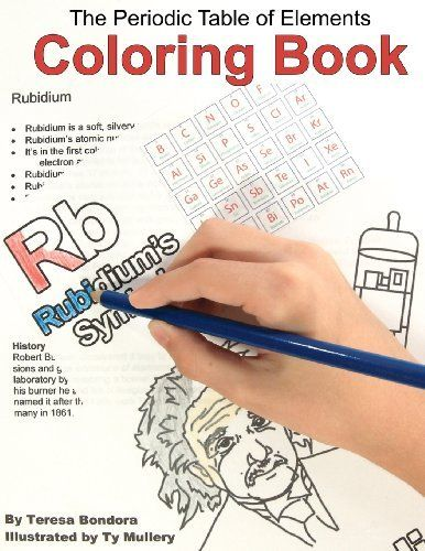 perfect kitchen table activity just add crayons the periodic table of elements coloring book - Periodic Table History Activity