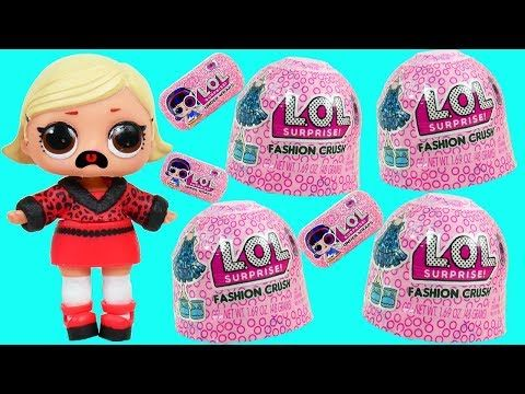 89035015205 LOL Surprise Jelly ! Fashion Crush Dress Up Blind Bags Under Wraps - YouTube