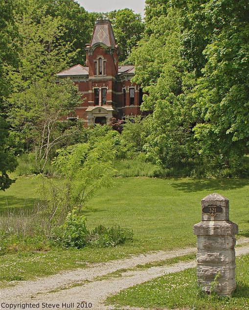 Mansion On A Hill In Connersville Indiana