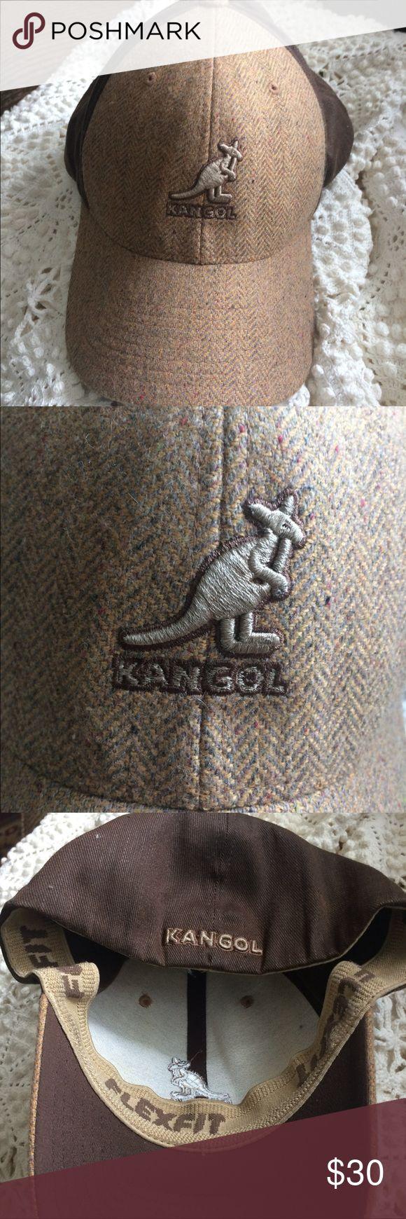 Kangol Baseball Cap Kangol Flexfit Fit Herringbone Baseball Cap.    Size  L/XL. Used but good condition. This hat is unisex. Kangol Accessories Hats