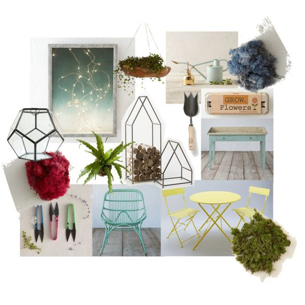 Charming A Peaceful Patio By Mrkatedotcom On Polyvore Featuring Interior, Interiors, Interior  Design, Home