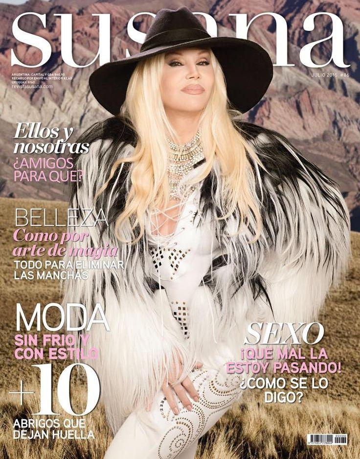 ¡YA SALIO! La revista de Susana de julio. Moda sin frío y con estilo. ¡Imperdible! @Su_Gimenez @revistasusana #Susana