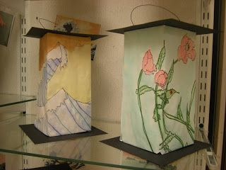 beautiful japanese lanterns....even comes with a template