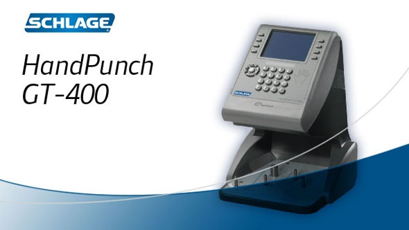 #Schlage #HandPunch GT-400  http://w3.securitytechnologies.com/products/biometrics/time_attendance/HandPunch/Pages/details.aspx?InfoID=17