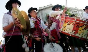 Fiesta del Roto Chileno. Barrio Yungay. santiago de Chile