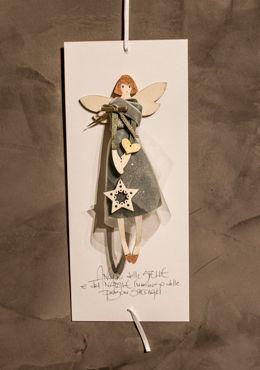 ANG.NA.ST - Angelo delle Stelle - Stars' Angel / Angeli del Natale / Angeli / Catalogo / OcaBianca