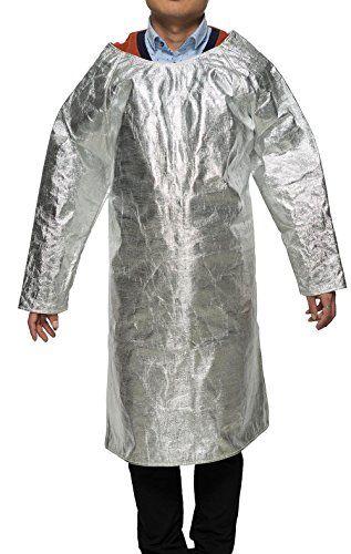 Welding Apron Aluminized Heat Resistant Apron Protective Coat Safety Suit Safety Apparel Flame Resistant Safety Lab Apron, http://www.safetygearhq.com/product/uncategorized/welding-apron-aluminized-heat-resistant-apron-protective-coat-safety-suit-safety-apparel-flame-resistant-safety-lab-apron/