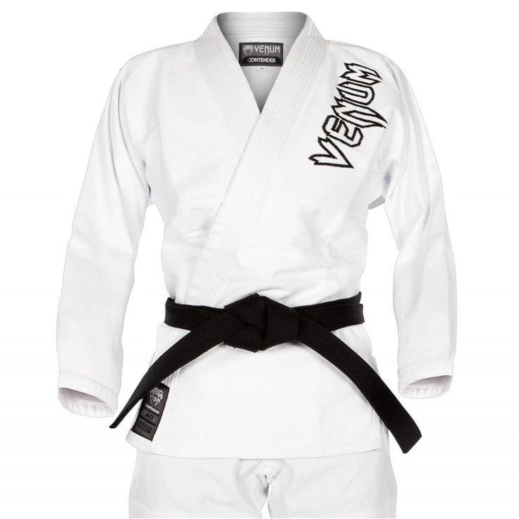 Dispnemos en SoloArtesMarciales.com de  Kimono Jiu-Jitsu ... Cómpralo desde aquí!!  http://soloartesmarciales.com/products/kimono-jiu-jitsu-brasileno-venum-contender-2-0-blanco?utm_campaign=social_autopilot&utm_source=pin&utm_medium=pin