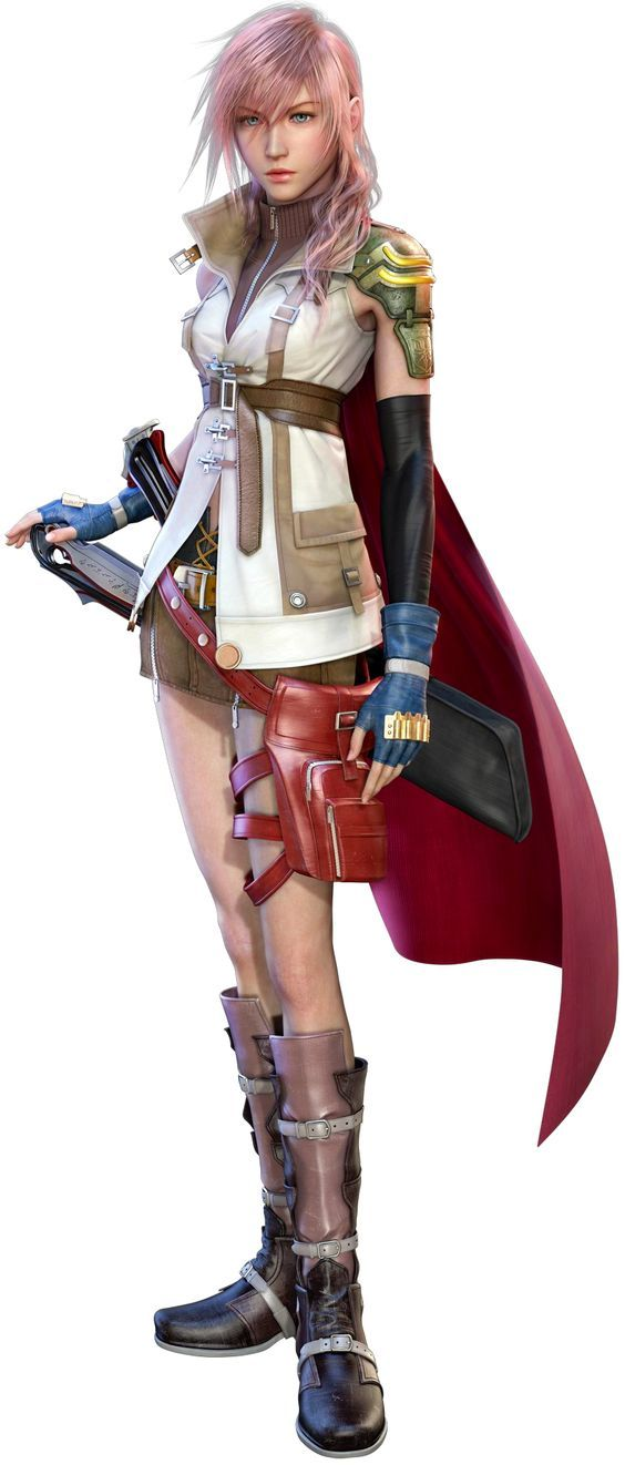 Lightning (Final Fantasy XIII) - The Final Fantasy Wiki has more Final Fantasy information than Cid could research: