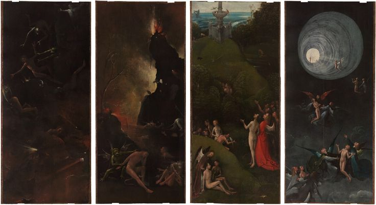 Hieronymus Bosch has a new website: Scholars are studying Bosch's {weird and amazing} work in minute detail to understand and conserve it.
