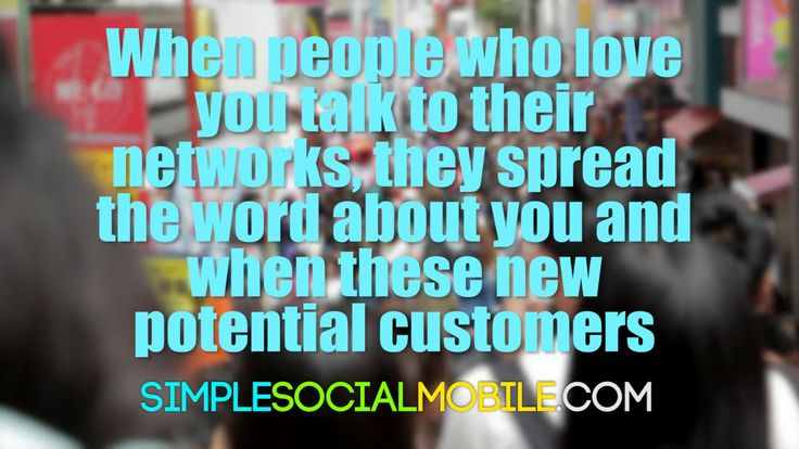 The customers you delight will pay you back for your hard work by spreading the word through social media. Your marketing team just got that much bigger!