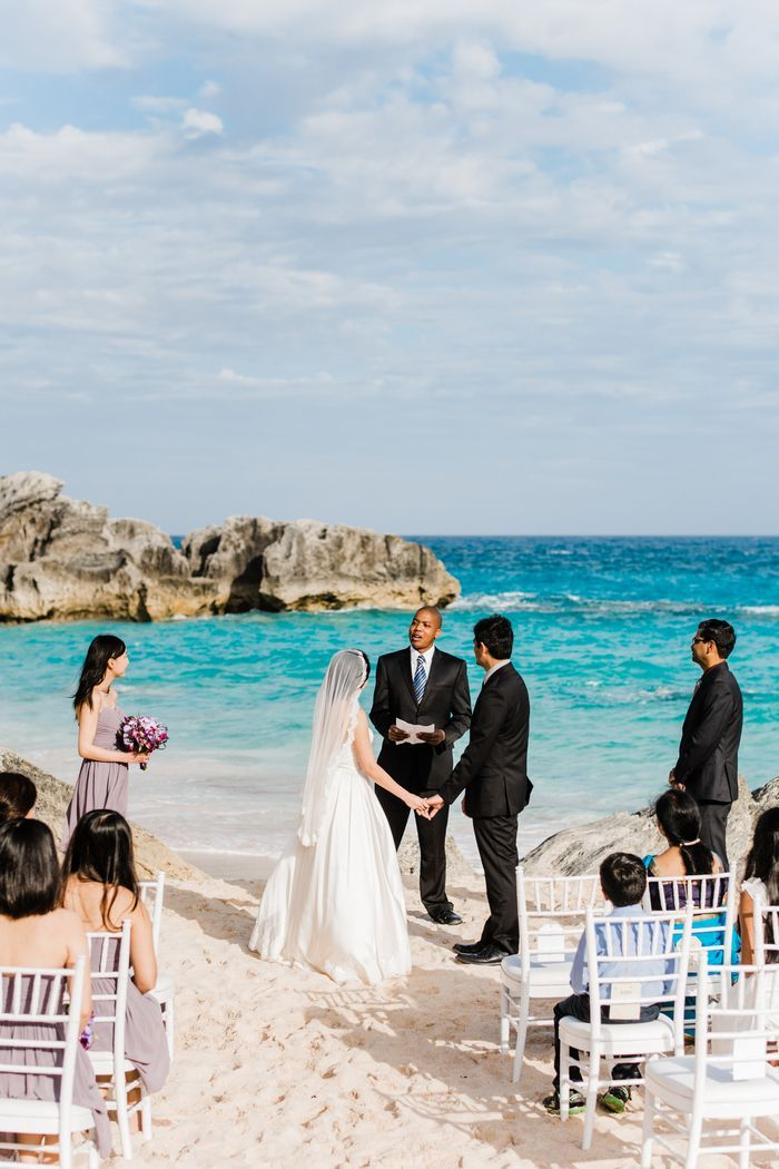 Intimate Bermuda Wedding