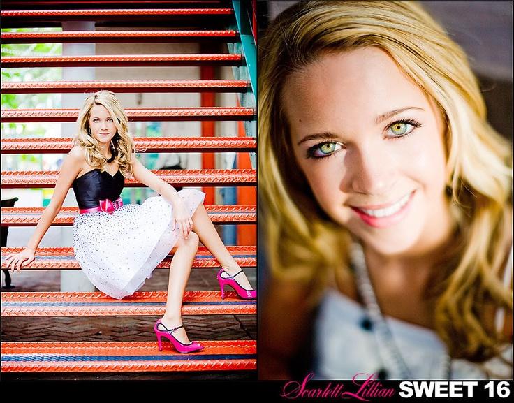 sweet 16 photo shoot