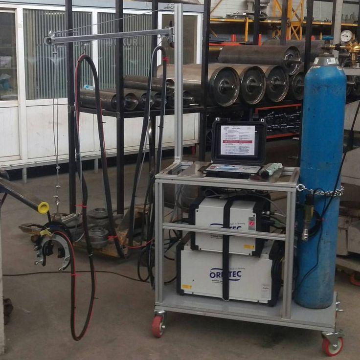 Orbitec orbital welding machine Welding machine, Locker