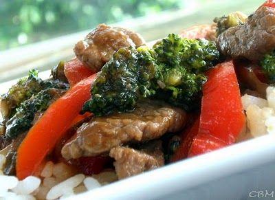 Sauté de boeuf à la hoisin et au brocoli