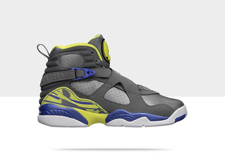 Air Jordan Retro 8 Girls Shoe
