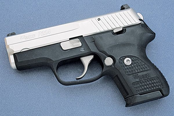 Traditional Downsizing: SIG Sauer P224 Review - Shotgun News Find our speedloader now!  http://www.amazon.com/shops/raeind