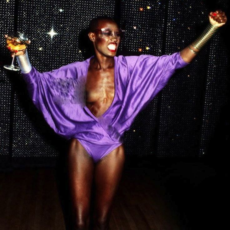 Grace Jones at Studio 54 #nastygalvintage #afterpartyvintage