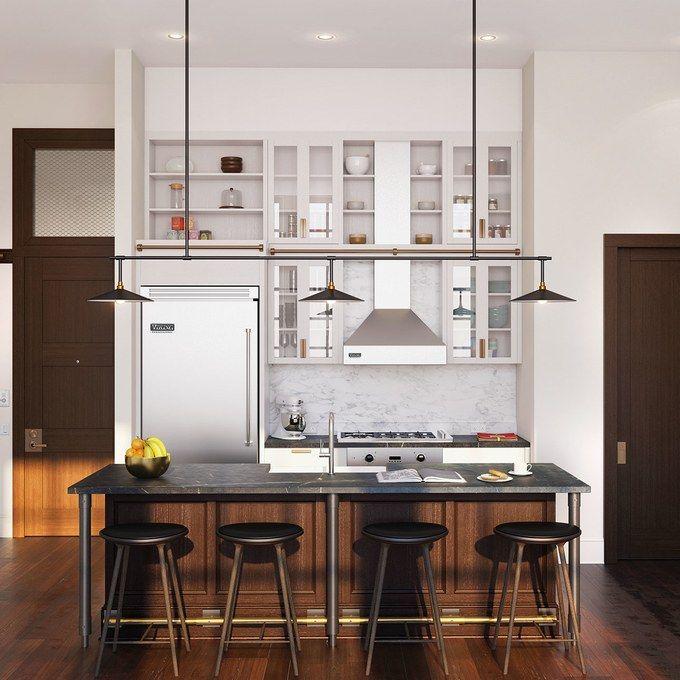 apartment loft kitchen